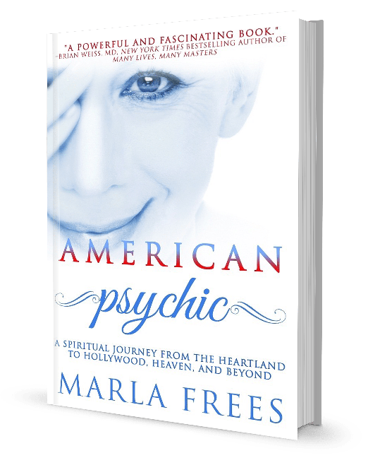 Marla Frees Book American Psychic Cover